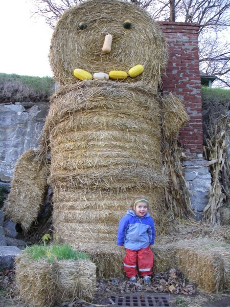 Reid and the giant strawman the Farmer Paul built