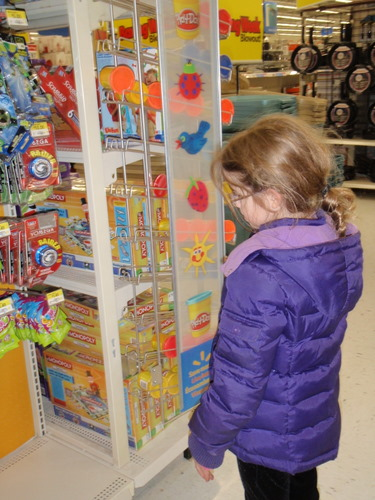 11:56 - browsing the toy aisle