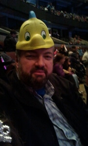 Dad in a fish hat