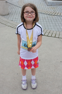 Reid with medal