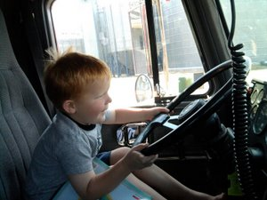Truck driven Zachary